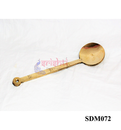 SSDN-Brass Serving Spoon/Karandi-B01