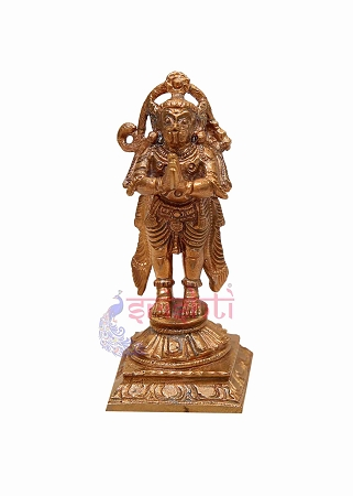 SKCU-Copper Hanuman-3.5 Inches USA & CANADA