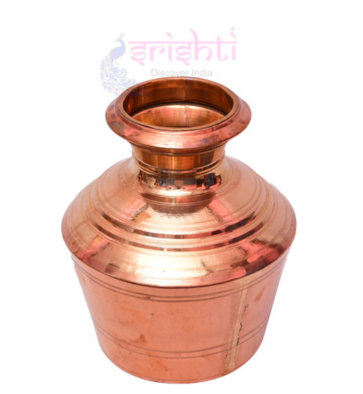 SKCU-Copper Kalash-10 Inches