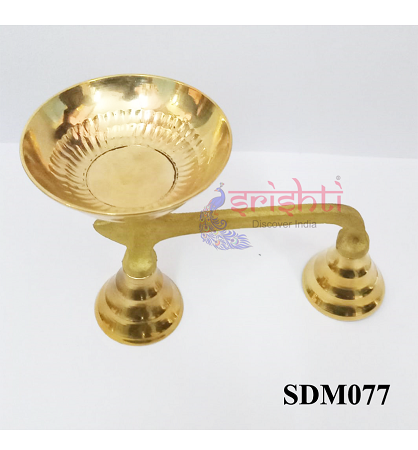 SSDN-Brass Dhoop Stand