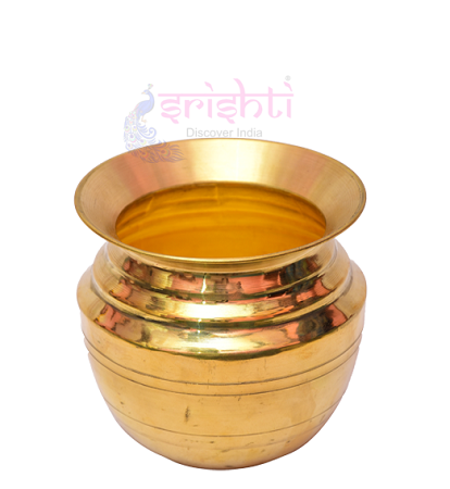 SKBU-Brass Kalash-4.5 Inches