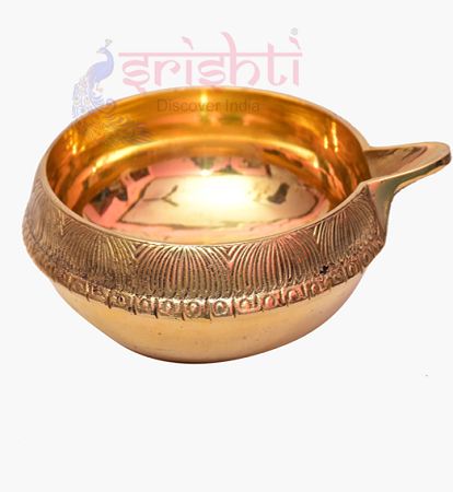 SKBU-Brass Kubera Diya without Stand USA & CANADA