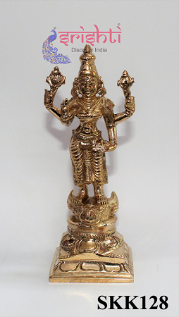 SKPU-Bronze Durga-4 Inches USA & CANADA