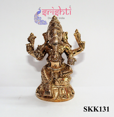 SKPU-Bronze Vinayagar-3.5 Inches USA & CANADA