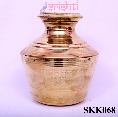 SKBU-Brass Kalash-11 Inches