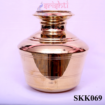 SKBU-Brass Kalash-12 Inches