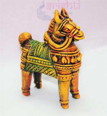 SSCU-Clay Decor Horse-M02 USA & CANADA