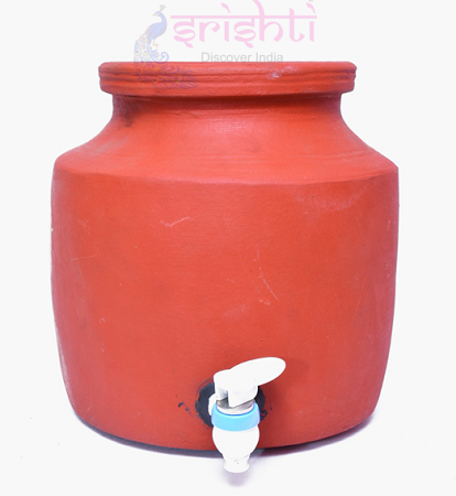 SSCU-Clay Water Pot With Tap USA & CANADA