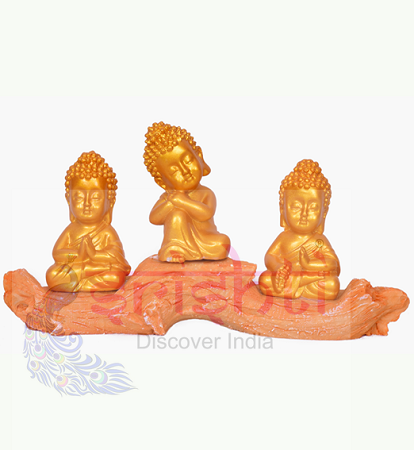 SDGU-Tree Buddha (Set of 3)-3.5 Inches USA & CANADA