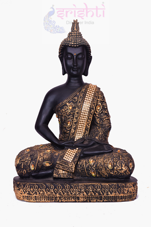 SDGU-Buddha (Black)-12.5 Inches USA & CANADA