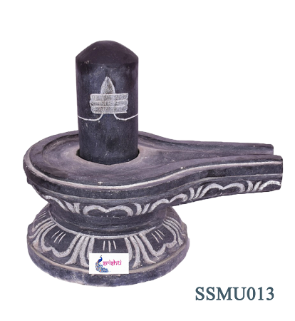 SSSU-Black Stone Shiva Lingam Model 2 USA & CANADA