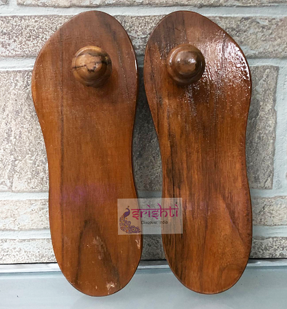 SHTG-Wooden Paduka-9 Inches