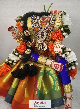 Decorated Varalakshmi Amman Dress Full Set USA & CANADA