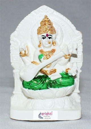 SKRG-Goddess Saraswathy Idol-3.5 Inches USA & CANADA