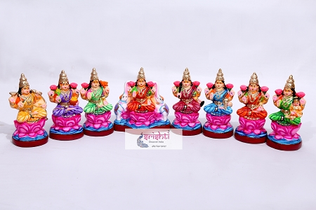 SNPD-Ashtalakshmi Set-14 Inches USA & CANADA