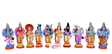 SNDP-Dasavatharam Set-New-15 Inches USA & CANADA