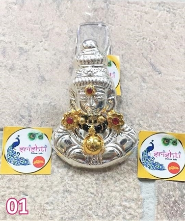 Silver Gold Plated Varalakshmi Face USA & CANADA