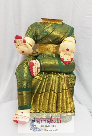 Varalakshmi Amman Dress 18 Inches USA & CANADA
