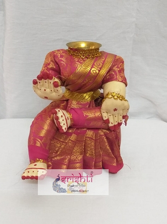 Varalakshmi Amman Dress 11 Inches USA & CANADA
