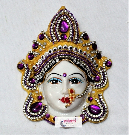 Varalakshmi Amman Face with stone work USA & CANADA