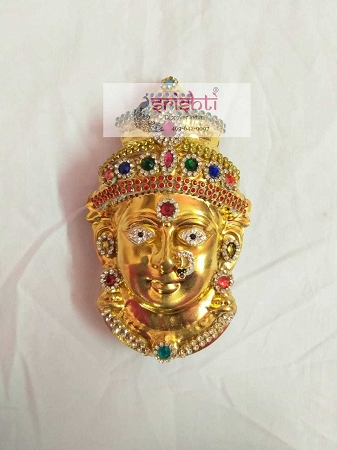 Varalakshmi Amman Face02-Gold Plated USA & CANADA