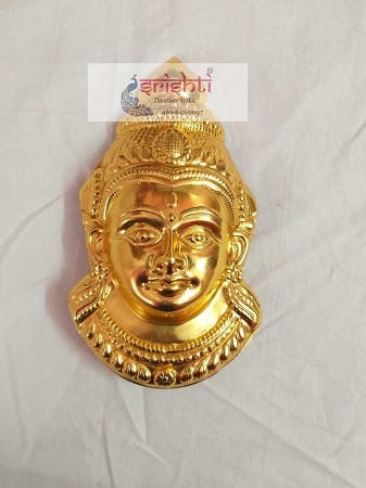 Varalakshmi Amman Face01-Gold Plated USA & CANADA