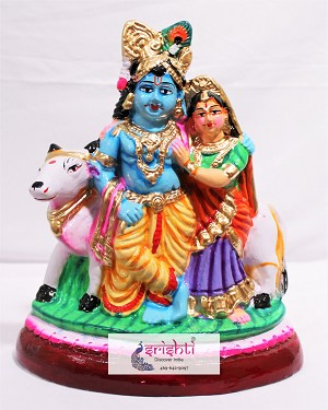SNDP-Radha Krishna With Cow (SNPK001)