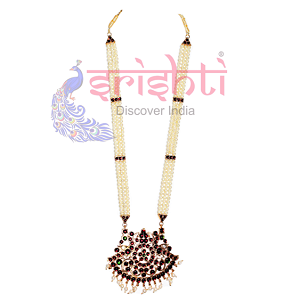 SRBA-Dance Traditional Pearl Necklace-S01-A (SBAR0019-A)