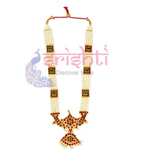 SRBA-Dance Traditional Pearl Necklace-S01 (SBAR0019)