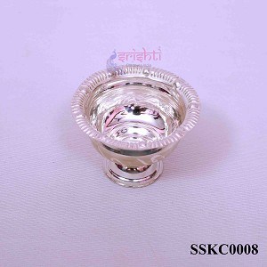 SSSD-Pure Silver Chandan Cup-12 Gms (SSKC0008)