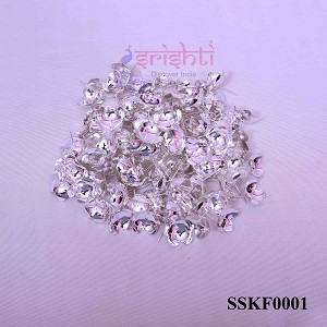 SSSD-Pure Silver Archana Flowers-Pack of 110-M01 (SSKF0001)