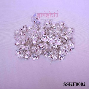 SSSD-Pure Silver Archana Flowers-Pack of 110-M02 (SSKF0002)