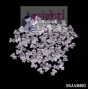SSSG-Pure Silver Archana Lotus with Stem (Pack of 108) (SSJAR002)