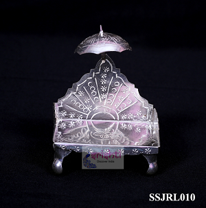 SSSG-Pure Silver Simhasan with Stand-59 Gms (SSJRL010)