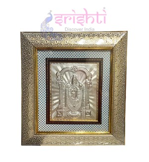 SSSD-Silver Balaji Designer Photo Frame-11.5 Inches (SGSU11)