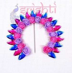 SMMC-Varalakshmi Decorative Crown-Assorted Color-M02 (SMGC019)