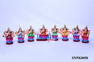 SNPD-Ashtalakshmi Set-8 Inches (SNPK0050)