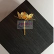 SSSG-Pure Silver Lotus Gold Plated Flowers-5 Gms (SUHT003)