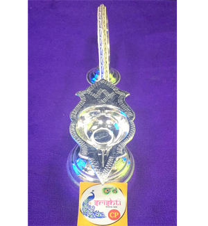 SSSD-Pure Silver Aarti Single Face (SUPC178)