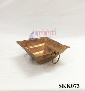 SKPU-Copper Havan Kundam without Stand-M01 (SKK073)